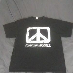 CHICKENFOOT TSHIRT 2009 SIZE XL